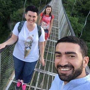 Rope Bridge at Khndzoresk