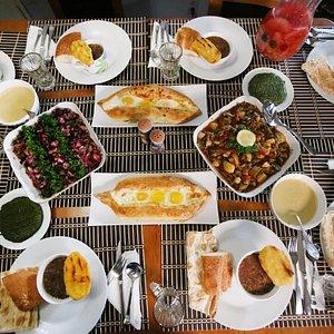 Elmira's beautiful food!