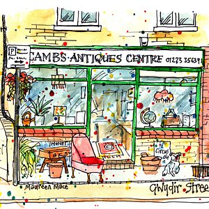 Shop Front by local artist Maureen Mace.