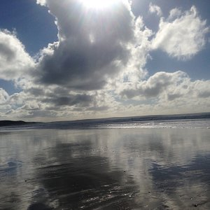 Taken on newgale beach on a sunny October morning