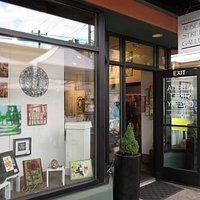 The Alberta Street Gallery in Portland, Oregon