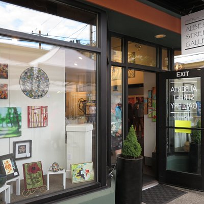 The Alberta Street Gallery in Portland, Oregon