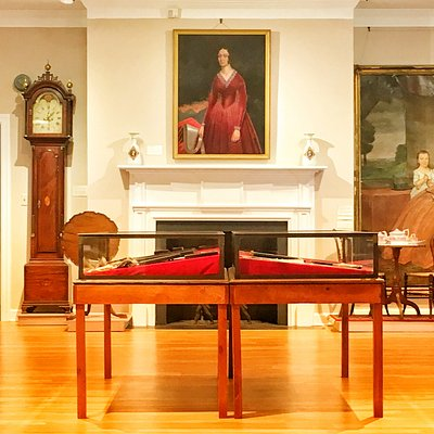 The Main Gallery of the New Milford Historical Society & Museum