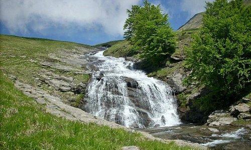 Una delle molte cascate