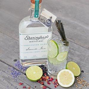 Internationally award winning Seaside Gin