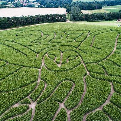 2017 Hundred River Maze Design