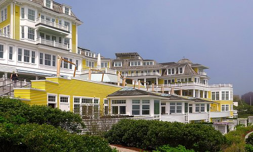 Ocean House 1 Bluff Ave, Watch Hill, Westerly, RI - Exteriors