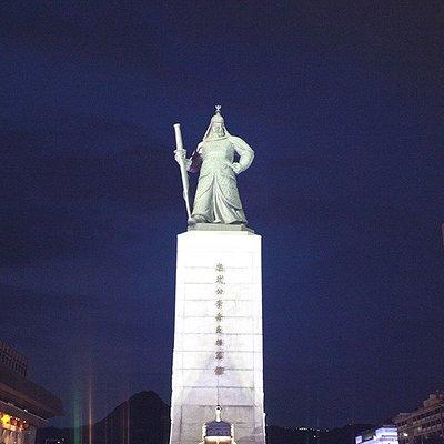 Admiral Yi Sun-Sin statue