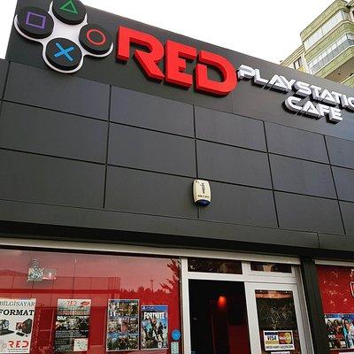 Red Playstation Cafe Dış Mekan