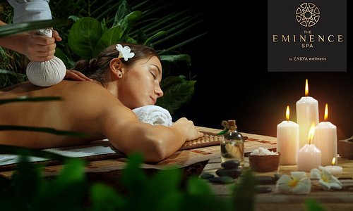 The Eminence Spa is a venture under Zarya Wellness, and is in a constant passionate pursuit of creating something beautiful and valuable for our customers. We bring to you, world class treatments from across the world, be it Ayurveda, Aromatherapy, Moroccan massage or Thai treatments.