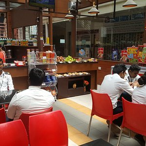 Heerthana Cafe is good appeal and good quality food service.