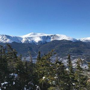 The wonderful view of the White Mountais <3