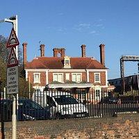 Victorian Market Harborough Railway Station