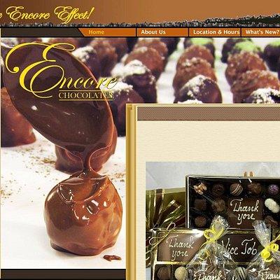 Shop 24/7 at EncoreChocolates.com!