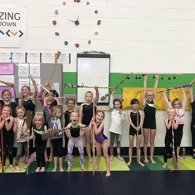Halloween Themed Gymnastics Day for Kids