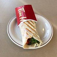 Cheddar Chipotle Crispy Chicken Wrap