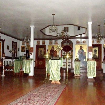Interior of Three Saints