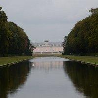 Staw Lustrzany i pałac Benrath