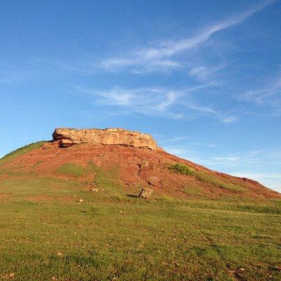 El cerro Castillón.