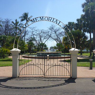 Ornate Entry Gates