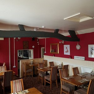 From a cheese board, sunset, regulars in the restaurant,  a buffet and the new look dining area.