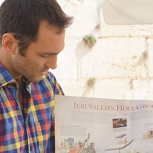Guiding in Jerusalem