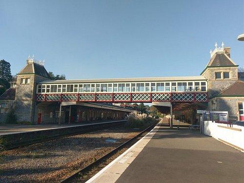Bridge from platform 1