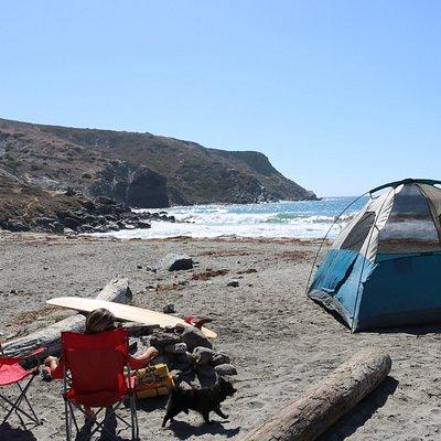 Catalina Backcountry rental set-up