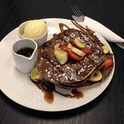 Kidzilla's Chocolate pancake.