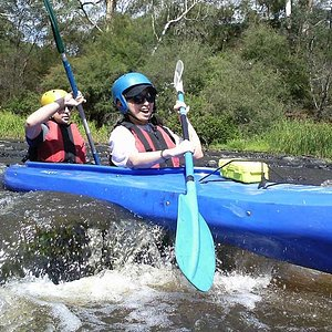Enjoy the Thrill of the White Water Rapids in Warrandyte just 45 minutes from the Melbourne CBD
