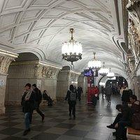 """Станция метро """"Проспект Мира""""."""