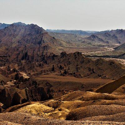 Pirgel mud volcano, Khash, Sistan and Baluchestan province, Iran