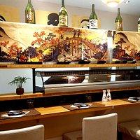 Sushi bar 😊