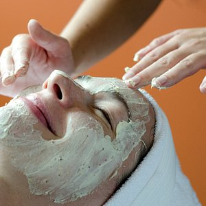 At Rasa the skincare team uses the Eminence Organics skincare line to customize each client's facial.