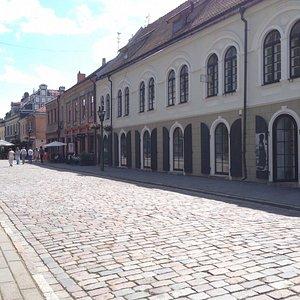 Outside of Kaunas photography gallery