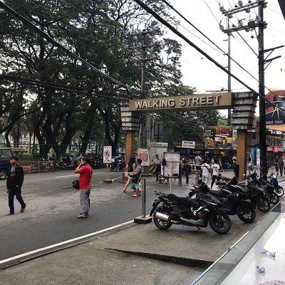 Walking Street or Fields Avenue