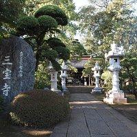 大きなお寺です