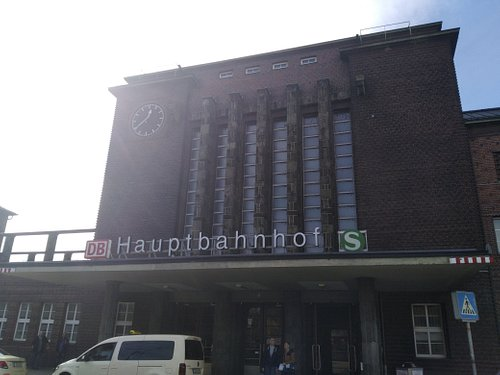 View in front of Railwaystation