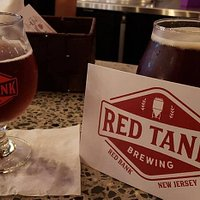 Red Tank serves only their own home-made brews.