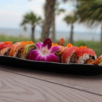 We have a sushi selection for anyone, even if you don't like fish!