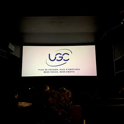 Screen size in UGC Toison D'Or theater 13!