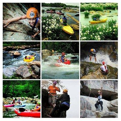 21 adventure to choose from https://thriftyadventuresnc.com/