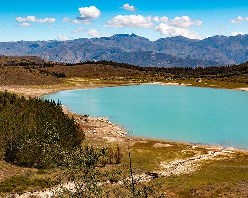 Laguna Keushu looking toward Cordillera Negra