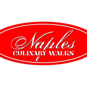 Look for our logo!  Naples Culinary Walks offers healthy and heasy 3 hour walks through Naples, Florida neighborhoods for tastings at wonderful restaurants.  Join us!  See food tour descriptions online at NaplesCulinaryWalks .com