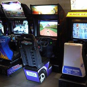 Arcade machine at Sugoi