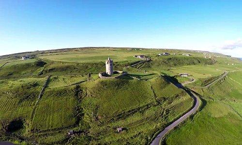 "The iconic ""Doonagore Castle"" in Doolin"