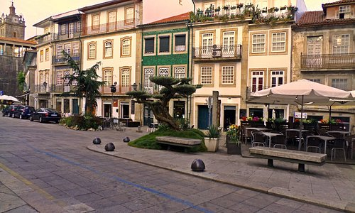 Praça Dom Duarte, Viseu, Portugal
