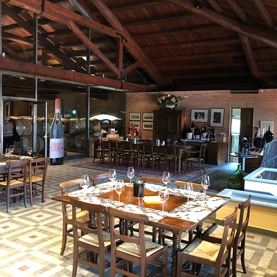 Tasting room at Braida