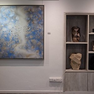 Sculptures, ceramics, paintings and many more interesting works on display! Definitely something for everyone