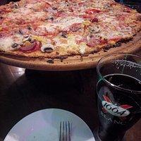 пицца, собранная самостоятельно